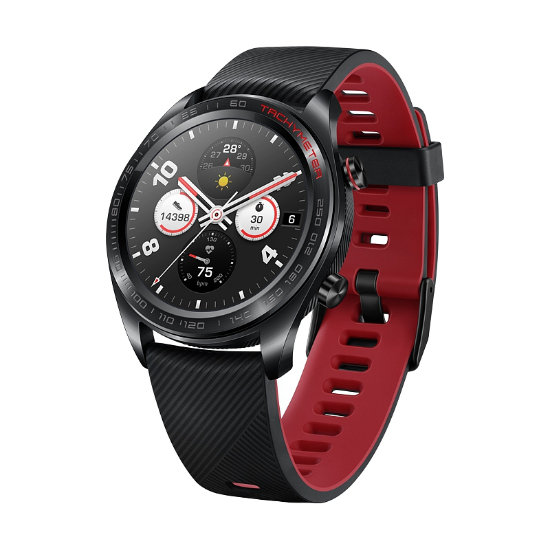 Умные часы Honor Watch Magic Silicone Strap (черный) RU\A